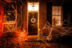 Free America`s Halloween Amid The Pandemic Royalty Free Stock Images - 200517729
