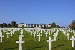 America's Sacrifice, Henri-Chapelle Cemetery, Belgium Royalty Free Stock Image