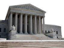America's Supreme Court. A view of the United States Supreme Court in Washington, DC Stock Photos