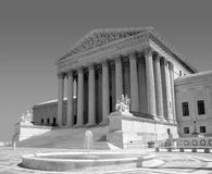 America's Supreme Court. United States Supreme Court in Washington, DC Royalty Free Stock Photo