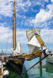 America 2 schooner, Key West, Florida, USA Stock Photos