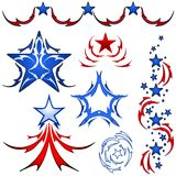 America tattoo designs Royalty Free Stock Photo