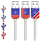 America usb Royalty Free Stock Image