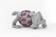 America world cup 2014 Royalty Free Stock Photo