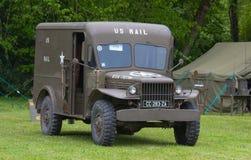 Americain mail truck Stock Photo