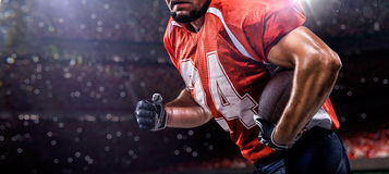 Americam football player Royalty Free Stock Image