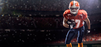 Americam football player Royalty Free Stock Photo