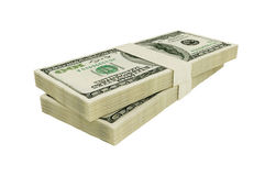 American 100 dollars. It of hundred dollar denominations Royalty Free Stock Images