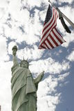 American!. Replica of the statue of liberty at the New York New York in Las Vegas Nevada Stock Photography