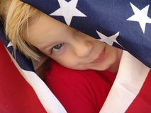 American. Flag series royalty free stock photography