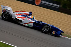 American a1 gp race car Royalty Free Stock Photo