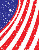 American abstract flag Royalty Free Stock Photo
