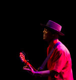 American acoustic blues singer Eric Bibb Stock Photo