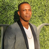 American actor and singer Leslie Odom Jr. at the red carpet before US Open 2016 opening night ceremony. NEW YORK - AUGUST 29, 2016: American actor and singer Royalty Free Stock Images