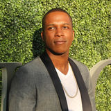 American actor and singer Leslie Odom Jr. at the red carpet before US Open 2016 opening night ceremony. NEW YORK - AUGUST 29, 2016: American actor and singer Royalty Free Stock Photo