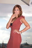 American actress Eva Mendes Royalty Free Stock Images