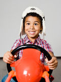 American african driver Royalty Free Stock Image