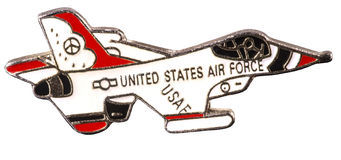 American airforce badge Stock Photography