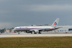 American Airline passenger jet Royalty Free Stock Photography