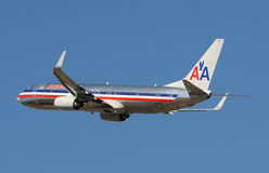 American Airliner passenger jet Stock Image