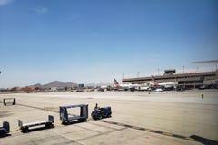 American Airlines στο λιμάνι ουρανού, AZ στοκ φωτογραφία