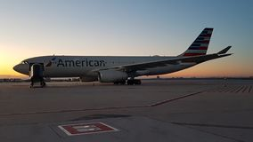 American Airlines immagini stock