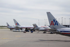 American Airlines Royalty Free Stock Photography