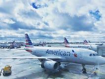 American Airlines Fotografia Stock