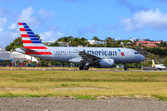 American Airlines Airbus A319 Photographie stock