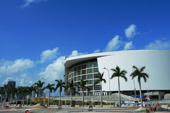 American Airlines Arena Royalty Free Stock Photography