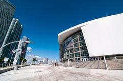 American Airlines arena Royaltyfri Foto