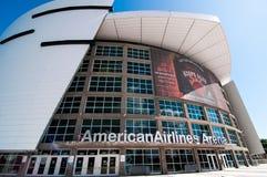 American Airlines arena Fotografering för Bildbyråer