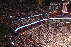 American airlines arena, Home of Miami Heat Stock Photography