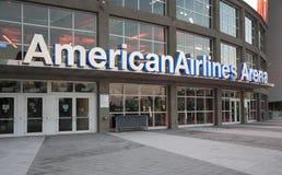 American Airlines arena i Miami Fotografering för Bildbyråer