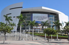 American Airlines-Arena in Miami Royalty-vrije Stock Afbeeldingen