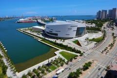 American Airlines arena Miami Royaltyfria Bilder