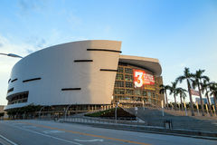 American Airlines-Arena in Miami stock afbeelding