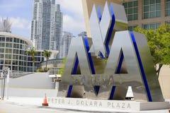 American Airlines arena Miami Fotografia Stock