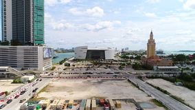American Airlines arena Miami stock video