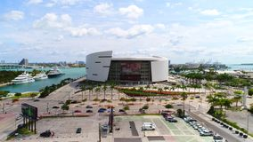 American Airlines Arena Miami stock video footage