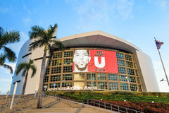 American Airlines Arena in Miami Stock Image