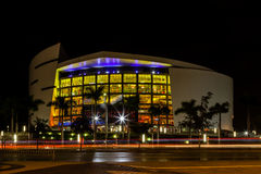 The American Airlines Arena Stock Photo
