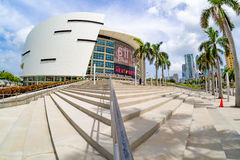 The American Airlines Arena in Miami Stock Image
