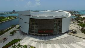 American Airlines Arena stock video