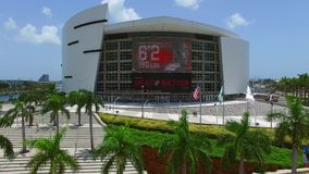 American Airlines Arena 2 stock footage