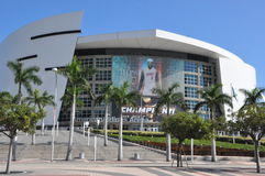 American Airlines Arena in Miami Royalty Free Stock Image
