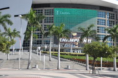 American Airlines Arena in Miami Stock Photos