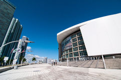 American Airlines Arena Royalty Free Stock Photo