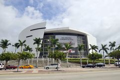 The American Airlines Arena Stock Images
