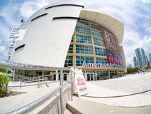American Airlines arena w Miami Fotografia Royalty Free